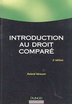 Introduction au droit comparé. 2e édition.