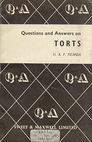 Questions and Answers on Torts.
