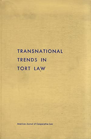 AMERICAN (THE) Journal of Comparative Law. Volume XVIII. 1970. Number 1. [Contents: Transnational...