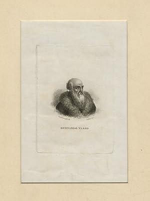 Bernardo Tasso. (Ritrattino a mezzo busto, di: POESIA ITALIANA DEL