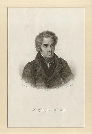 Ab. Giuseppe Barbieri. (Ritratto a mezzo busto,: POESIA ITALIANA -