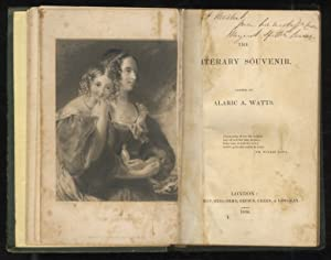 The Literary Souvenir. Edited by Alaric A. Watts. 1834.