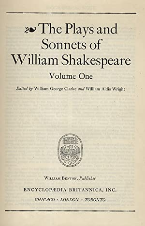 The Plays and Sonnets of William Shakespeare. Edited by William George Clarke and William Aldis W...