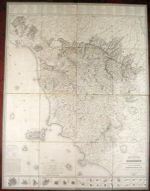 Carta geometrica della Toscana ricavata dal vero nella proporzione di 1 a 200000 e dedicata a S. A....