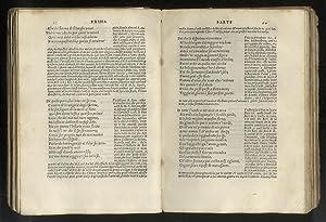 Il Petrarcha con l'espositione d'Alessandro Vellutello e: PETRARCA Francesco.