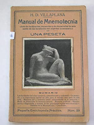 MANUAL DE MNEMOTECNIA: H.D. VILLAPLANA