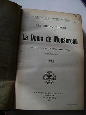 LA DAMA DE MONSOREAU. TOMO I (continuación: ALEJANDRO DUMAS