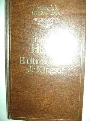 EL ÚLTIMO VERANO DE KLINGSOR: HERMANN HESSE