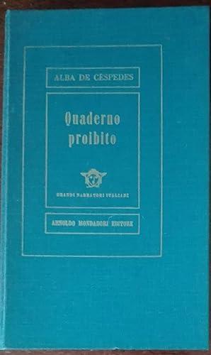 Quaderno proibito: Alba De Cespedes
