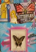 Dr. Steve Hunters - Collezione Farfalle Vere - Butterflies World n° 1 Papilio Xuthus