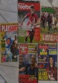 Stock 4 riviste sul calcio + Play games in regalo