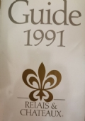 Guide 1991 Relais & Chateau: 377 hotels et restaurants dans 37 nations