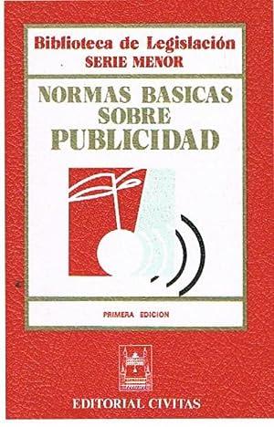 Normas Basicas Sobre Publicidad: Varios Autores