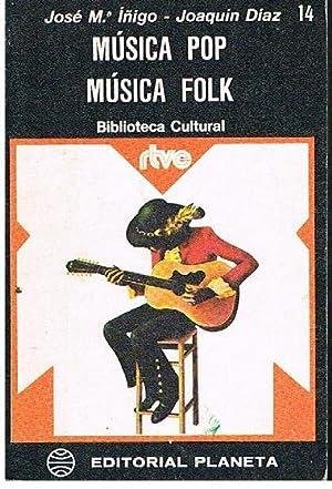 Música Pop -Música Folk: Kosé Mª Iñigo-