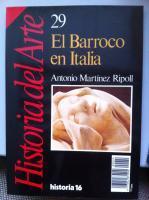 El Barroco En Italia: Antonio Martinez Ripoll