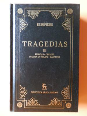 Tragedias III: Eurípides