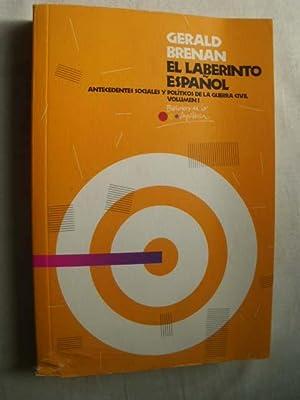El Laberinto Español Vol. 1: Gerald Brenan