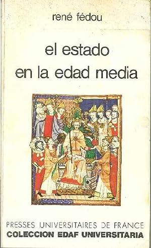 El Estado En La Edad Media: René Fédou