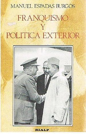 Franquismo y Exterior: Manuel Espada Burgos