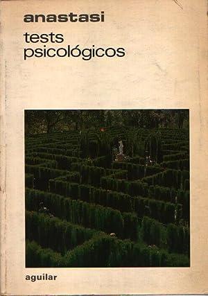 TEST PSICOLÓGICOS: Anastasi