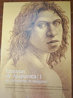 LÁMINAS DE ATAPUERCA. LA PREHISTORIA EN IMÁGENES.: DÍEZ FERNÁNDEZ-LOMANA, Carlos (...