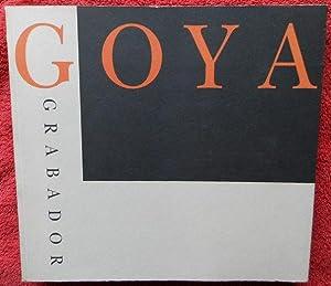 Goya grabador
