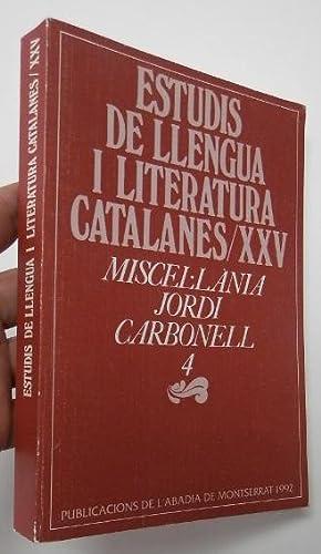 Estudis de llengua i literatura catalanes /