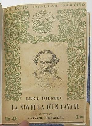 La novel·la d'un cavall: Tolstoi, Lleó