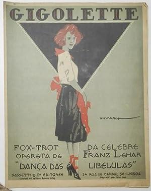Gigolette Fox-trot da celebre opereta de Franz