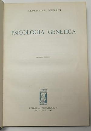 Psicología genética: Merani, Alberto L.