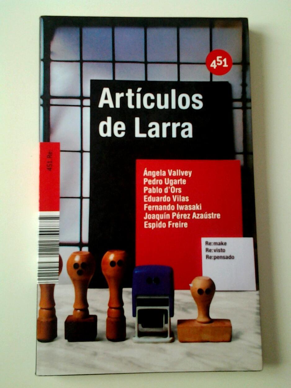 Artículos de Larra (Primera edición)