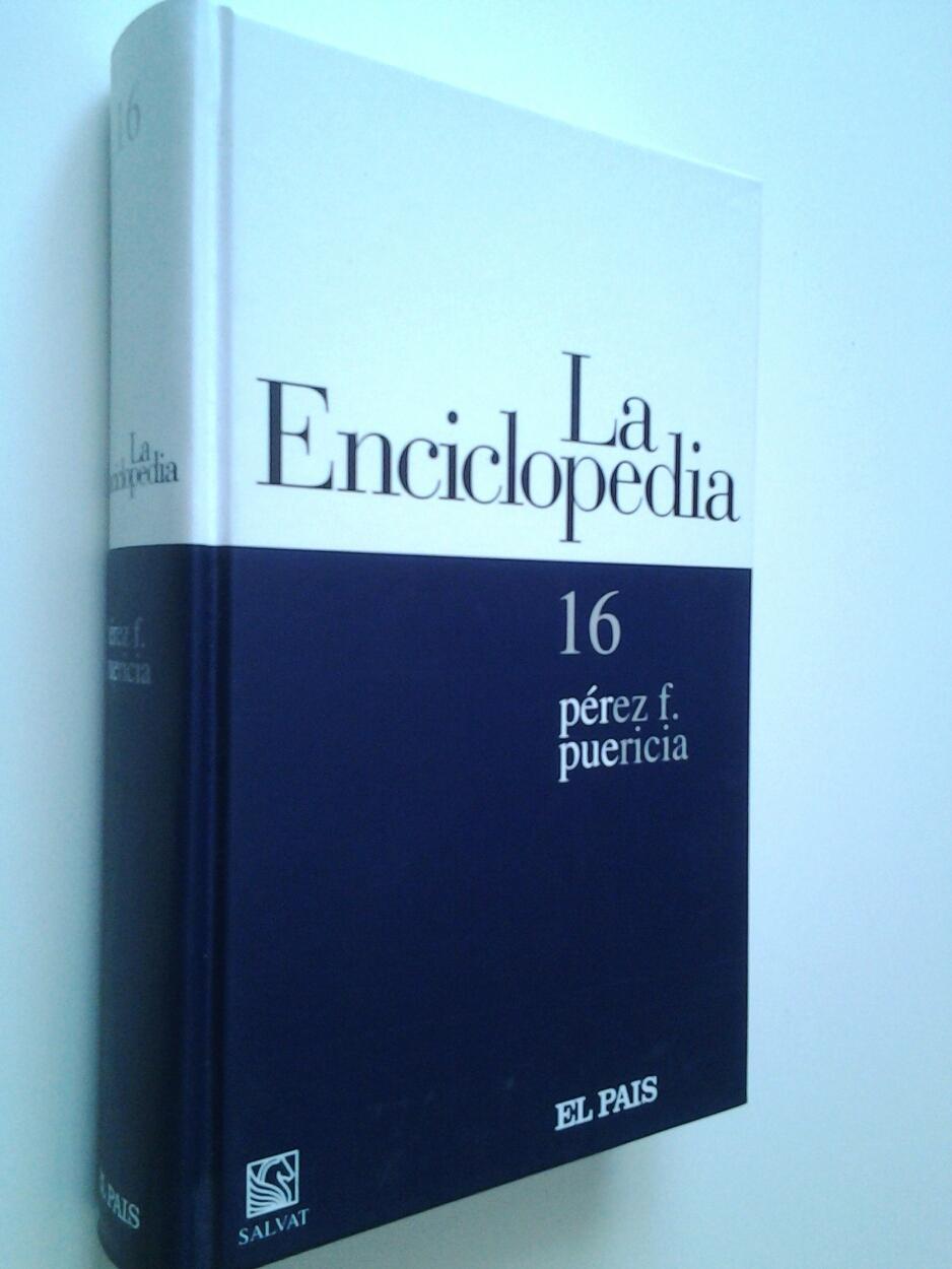 La enciclopedia. 16. pérez f.- puericia - VV. AA.