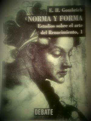 Norma y forma. Estudios sobre el arte: E. H. Gombrich