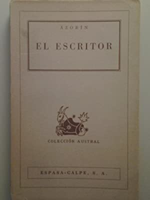 El escritor (Novela): José Martínez Ruiz