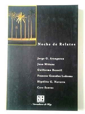 Noche de Relatos 2: Volamos todos los: Jorge G. Aranguren