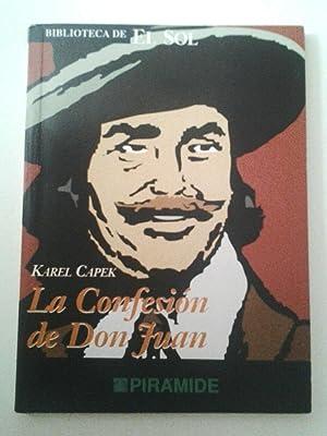 La confesión de don Juan: Karel Capek