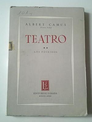 Teatro II: Los poseídos (Los posesos): Albert Camus (Traducción