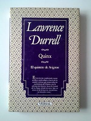 Quinx o el relato del asesino. El quinteto de Avignon: Lawrence Durrell