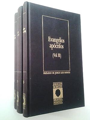 Los Evangelios apócrifos (3 volúmnes): Anónimo (Prólogo de Jorge Luis Borges)
