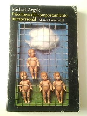 Psicología del comportamiento interpersonal: Michael Argyle
