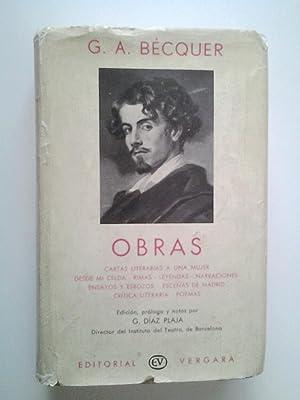 Obras: Cartas literarias a una mujer; Desde: Gustavo Adolfo Bécquer