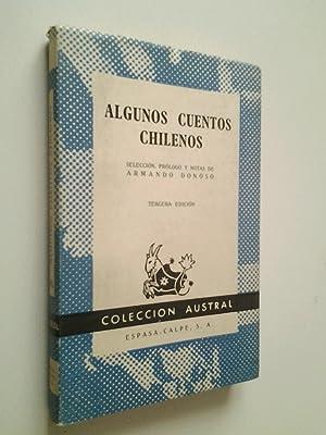 Algunos cuentos chilenos: VV.AA. (Selección, prólogo