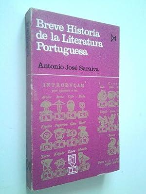 Breve Historia de la literatura portuguesa: Antonio José Saraiva