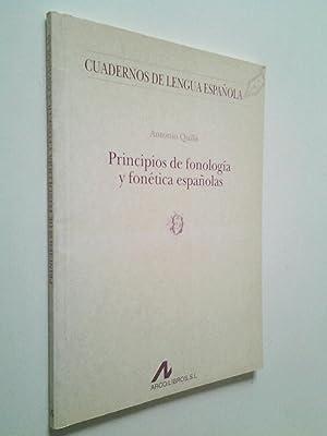 Principios de fonología y fonética españolas: Antonio Quilis