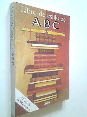 Libro de estilo de ABC: ABC (Prólogo de