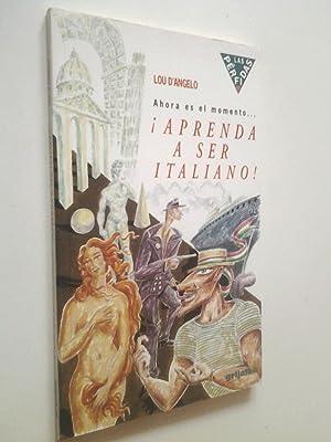 Aprenda a ser italiano! Ahora es el: Lou D'Angelo