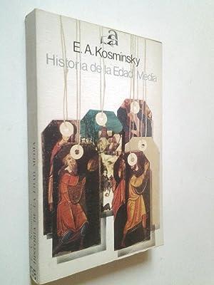 Historia de la Edad Media: E. A. Kosminsky