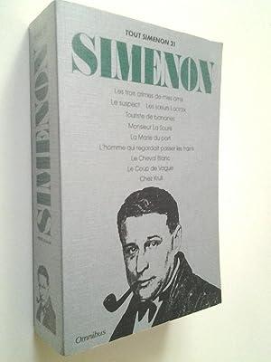 Tout Simenon, 21. Oeuvre romanesque: Les trois: Georges Simenon