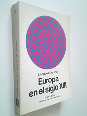 Europa en el siglo XIII: Léopold Genicot