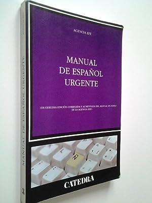 Manual de español urgente (duodécima edición corregida: Agencia Efe